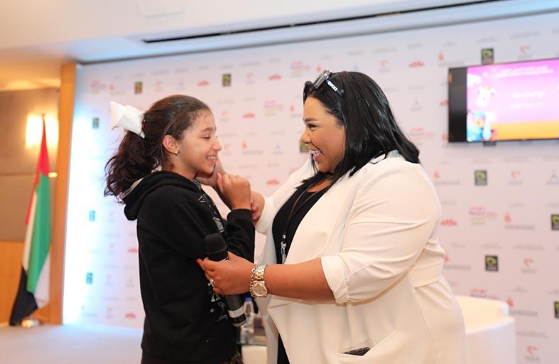 النجمة الكوميدية شيماء سيف: «الشارقة القرائي» فرصة للارتقاء بالمحتوى المعرفي المقدم للطفل العربي