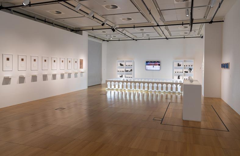 رواق الفن في جامعة نيويورك أبوظبي يتيح للجمهور فرصة زيارة معرض انتماء عبر الإنترنت