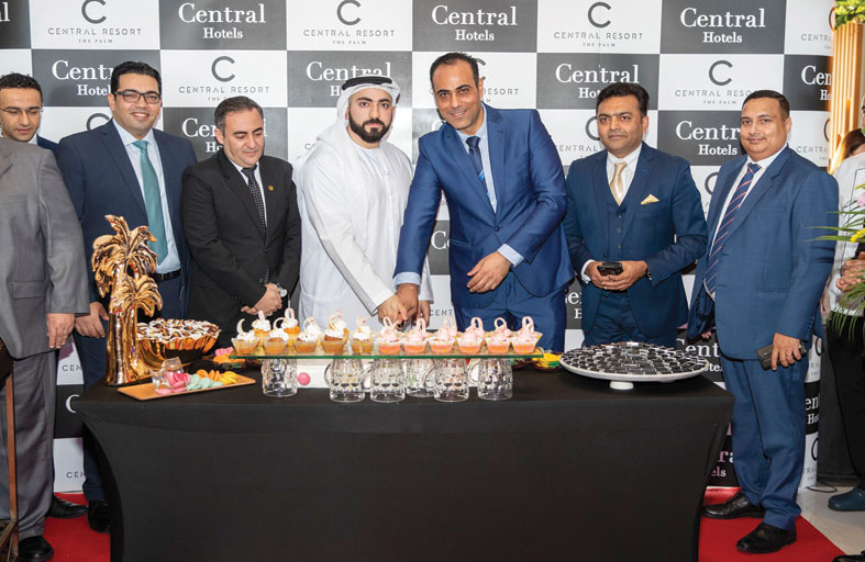منتجع سي سنترال النخلة يستقبل  العام 2020 بافتتاح أبوابه في دبي