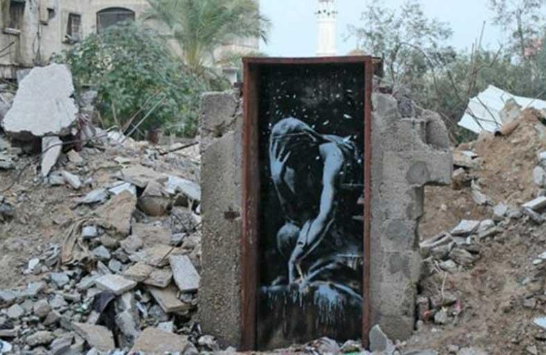 «الرجل الذي سرق بانكسي» يتناول فن الشارع
