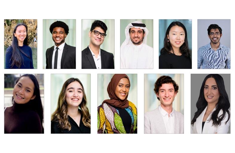 طلبة وخريجو نيويورك أبوظبي يحصلون على زمالات ومنح دولية مرموقة