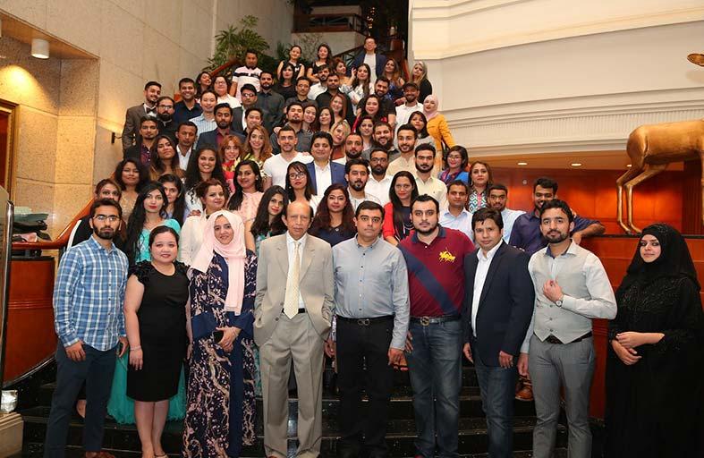 مجموعة سامانا بدبي تحتفل  بانضمام 100 خبير لفريقها بالإمارات