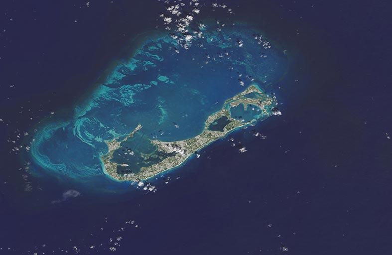 بركان برمودا لا مثيل له على كوكب الأرض