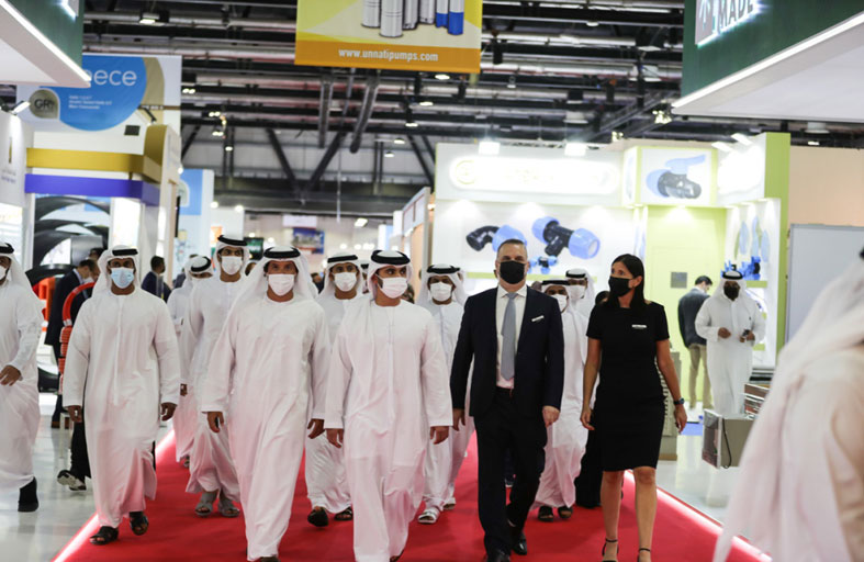 دبي تستضيف أكثر من 36 ألف متخصص عالمي في أول حدث حضوري لقطاع البناء والتشييد منذ عامين