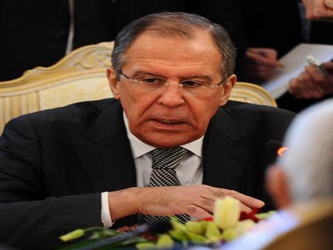 لافروف يدعو واشنطن للضغط على المعارضة السورية
