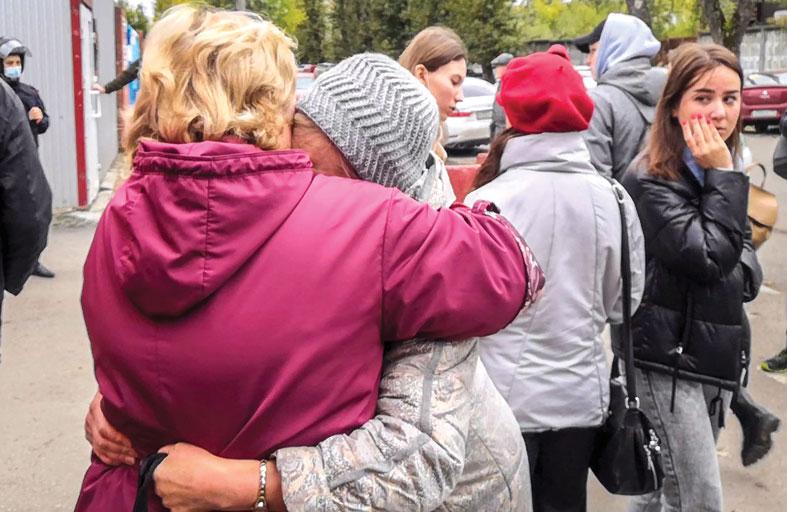 مقتل وإصابة 36 شخصا في إطلاق نار داخل جامعة روسية
