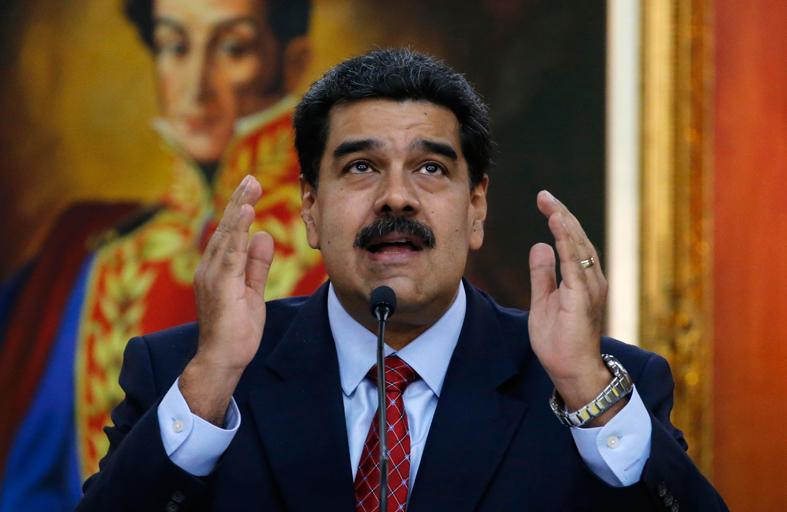 مادورو: عملية تسليم صعب أبشع المظالم