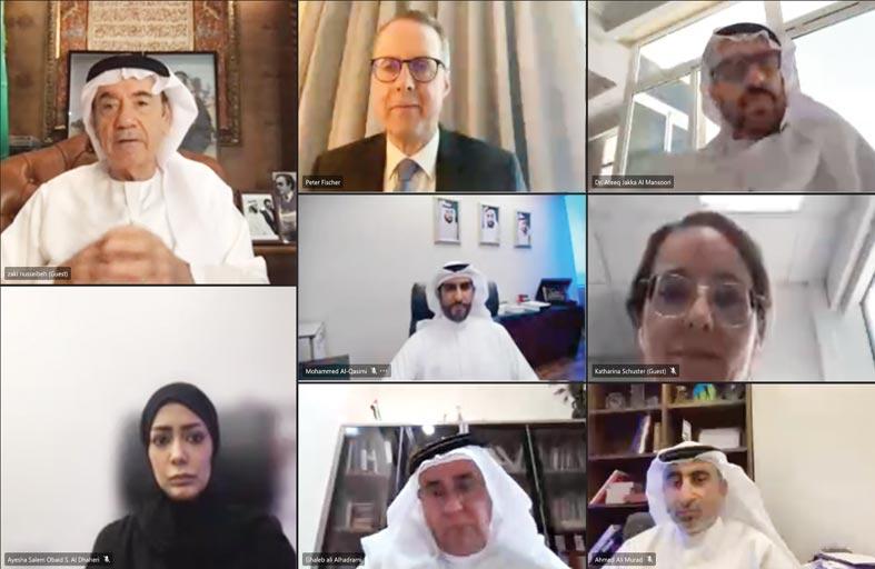 جامعة الإمارات تبحث علاقات التعاون الثقافي والأكاديمي مع ألمانيا