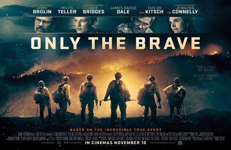 Only the Brave إطفائيون يكافحون النيران بالخنادق والمشاعل
