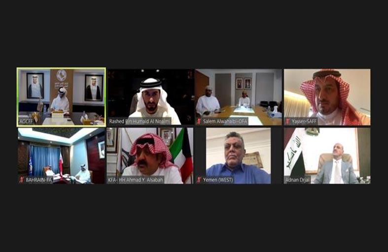 راشد بن حميد يُشارك في اجتماع الجمعية العمومية الاستثنائية لاتحاد كأس الخليج العربي