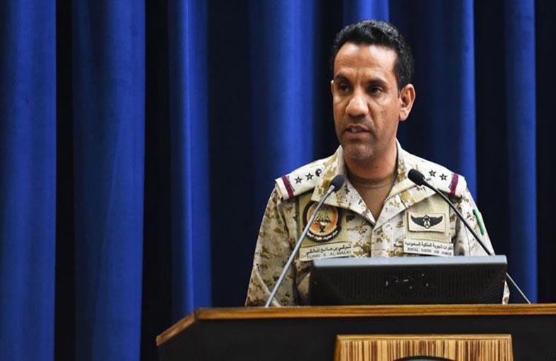 قيادة التحالف تستعرض الاختراقات والتهديدات الحوثية للأمن الإقليمي والدولي في اليمن