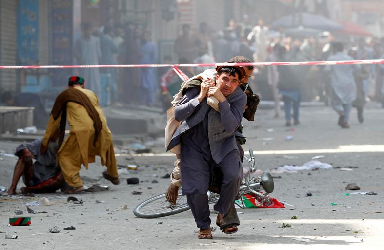 جرحى بانفجارات في جلال أباد الأفغانية