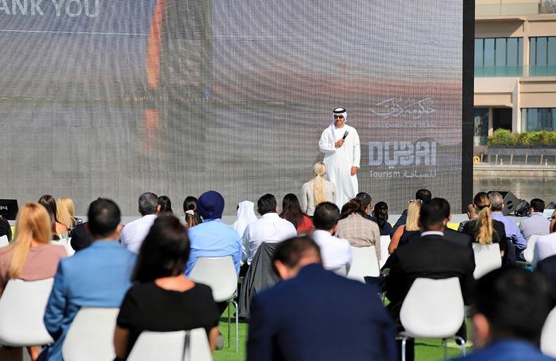 دبي للسياحة تعقد أول اجتماع مباشر مع شركائها منذ بداية جائحة كورونا