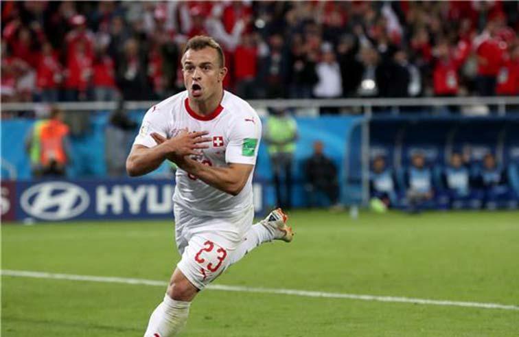 فوز سويسري بنكهة الانتصار لكوسوفو على صربيا