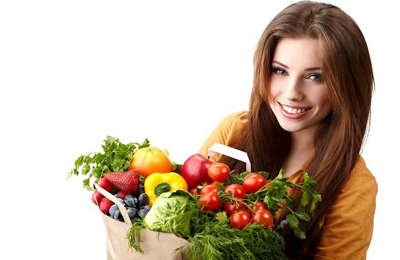تناول  الخضروات والفواكه يقلل احتمالات الإصابة بـالاكتئاب