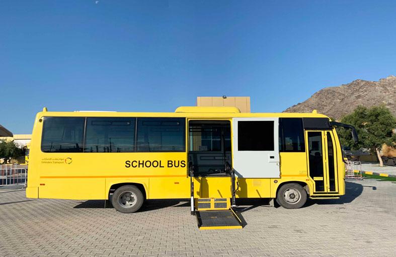 650 طالباً من أصحاب الهمم يستفيدون من مركبات مواصلات الإمارات