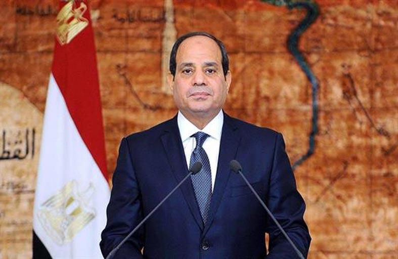 الرئيس المصري يدعو أمير قطر لزيارة بلاده