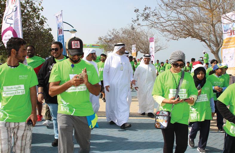 أبو ظبي التقني يطلق مهرجان الصحة واللياقة من الوطني للمعارض اليوم