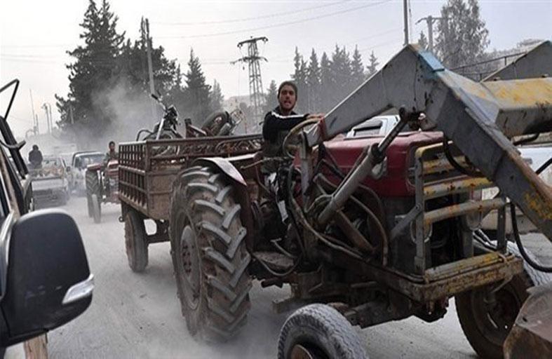 ميليشيات أنقرة تسرق المحاصيل الزراعية شمال سوريا
