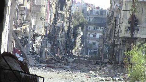الحرب تدمر آثار حلب العريقة