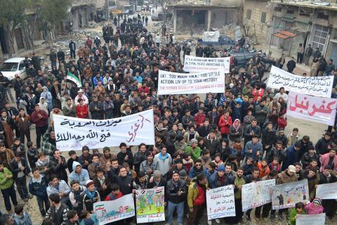 تركيا تريد عملية انتقالية بسوريا بدون النظام
