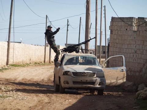 مشروع قانون أمريكي لتسليح المعارضة السورية