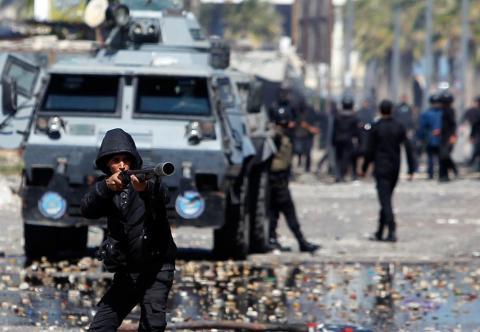 مصريون يحتجون على الاستيلاء على منازلهم