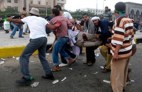جرح عشرات الضباط والمجندين برصاص الإخوان