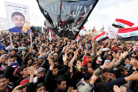 اعتصامات العراقيين تذيب خلافات العشائر