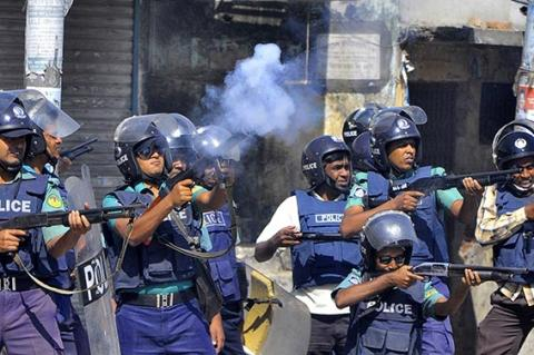 قتلى بأعمال شغب في بنغلاديش