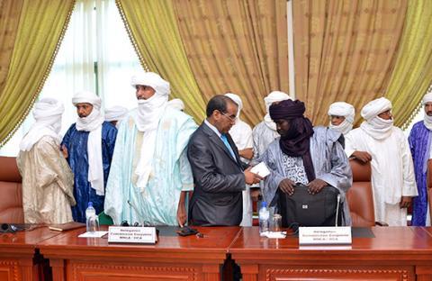 تواصل مفاوضات واغادوغو بين أطراف مالي