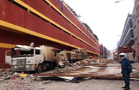 أزمة غذاء في تشيلي بسبب الزلزال