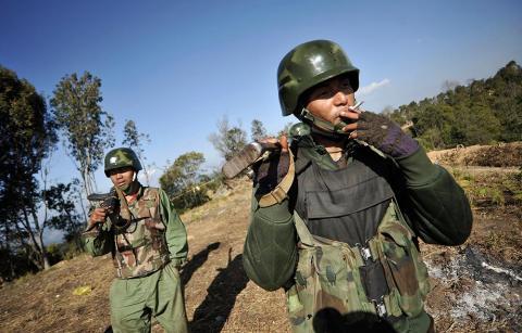 ميانمار تبدأ محادثات مع متمردي كاتشين