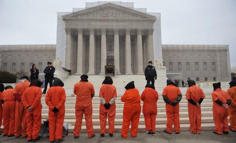 تظاهرة في واشنطن لإغلاق غوانتانامو