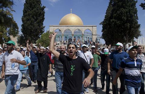 آلاف المتطرفين اليهود يصلون سراً في الحرم القدسي