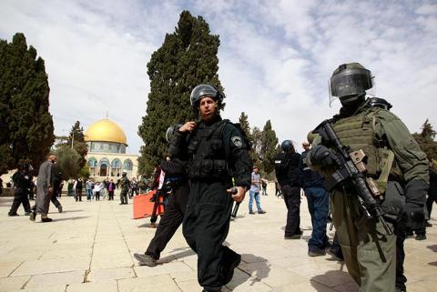 حملة لمكافحة التجسس مع إسرائيل في غزة