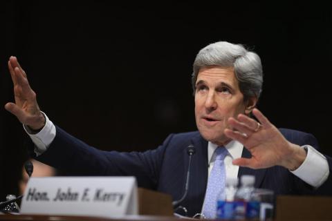 كيري: سنحيي سلام الشرق الأوسط