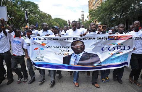 رئيس الوزراء الكيني يطعن بنتائج الانتخابات