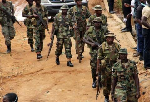 استهدف آلية عسكرية في شمال نيجيريا