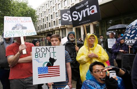 تحركات دولية وواشنطن ترفض حظر جوي في سوريا