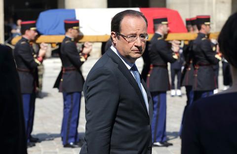 الإعلام يسأل هولاند عن الفرنسيين المخطوفين في سوريا