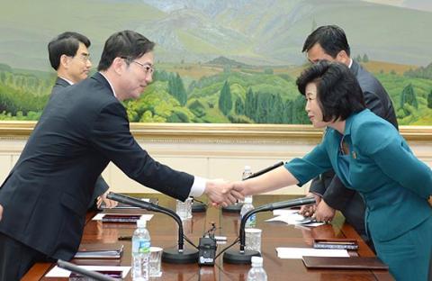 اجتماع على مستوى حكومي بين الكوريتين