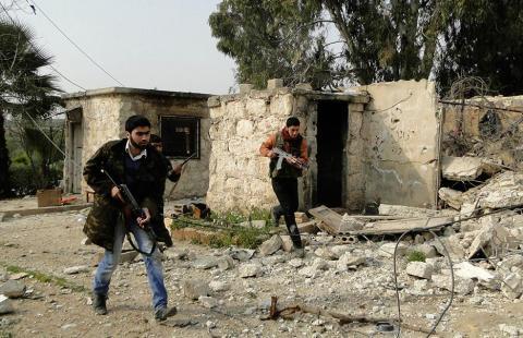 الثوار يتقدمون وروسيا تنتقد مؤتمر روما .. مجزرة قرب حلب والنظام يواصل قصف المدن
