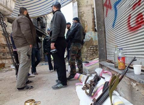 المعارضة السورية تستبعد إطلاق حوار مع نظام الأسد