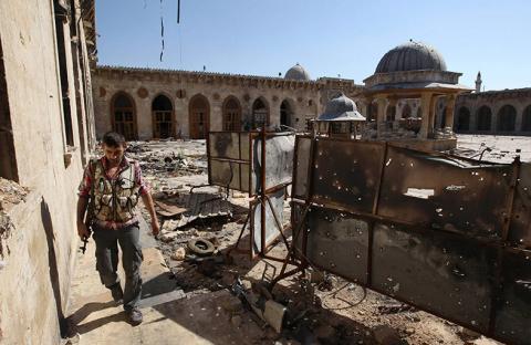 تدمير آلاف المساجد في مختلف أنحاء سوريا