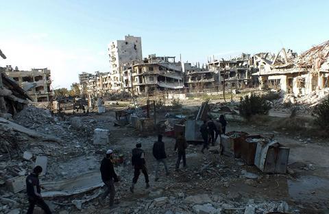 ضحايا بقصف ريف حماة وخسائر للنظام بريف دمشق