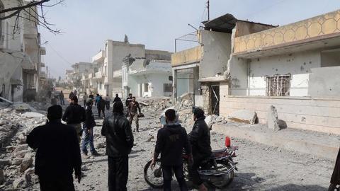 لافروف يدعو لحوار النظام السوري .. يونيسيف تدين قتل الأطفال في قصف حلب