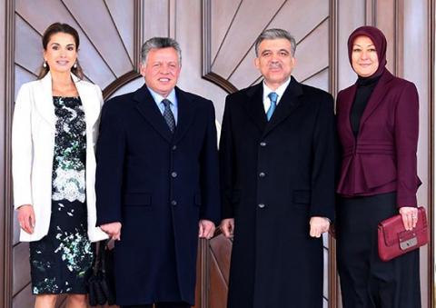 العاهل الأردني بتركيا لبحث الأزمة السورية