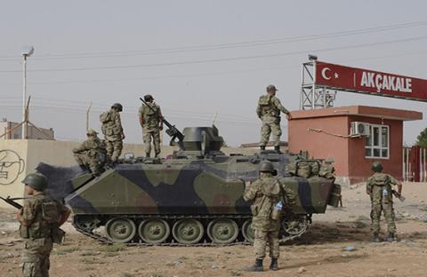 قذيفة سورية تقتل مزارعاً تركيا