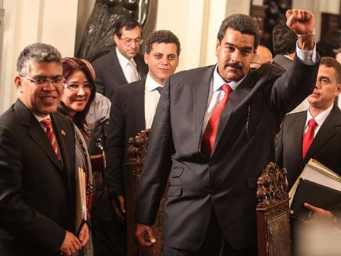 تدقيق للأصوات في فنزويلا وتنصيب مادورو